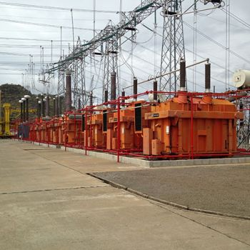Songo Sub Station Fire Protection System To 24 Transformers 2
